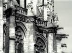 Amiens Cathedral, apse, gargoyles
