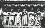 Amiens Cathedral, lintel detail, south transept portal by William J. Smither