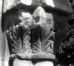San Juan de Duero, Romanesque sculpture, Soria, Castille, Spain.