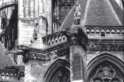 Amiens Cathedral, apse detail