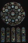 Chartres Cathedral, Rose and Lancet Windows, south transept