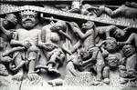 Ste. Foy, Conques, tympanum, Last Judgment (detail)