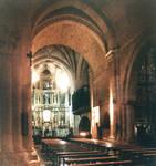 Santo Domingo, Soria, interior facing east