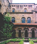 Le Puy-en-Velay, Cathedral of Notre Dame, cloister (detail)