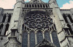 Chartres Cathedral, Rose Window of the North Transept, exterior