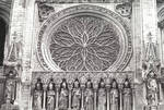 Amiens Cathedral, rose window by William J. Smither