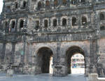 Porta Negra, detail of lower facade, c. 180, Late Antique, Roman Empire