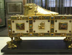Reliquary Sandal of St. Andrew, Trier Cathedral Treasury, 977-93, Ottonian/Romanesque