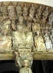 Santiago de Compostela, Portico de la Gloria, tympanum