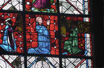 Rouen Cathedral, apse, window 14, 13th century, Gothic stained glass, France