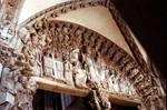 Santiago de Compostela, Master Mateo, Portico de la Gloria, 1168-1188, Romanesque, Santiago de Compostela, Galicia, Spain