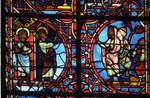 Rouen Cathedral, Sts. Peter and Paul Window, Apse, window 26, section 4