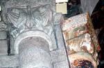 Santiago de Compostela, ambulatory capitals, eagles