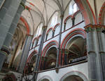 Evangelische Peterskirche, view of gallery and clerestory, Bacherach, Rhineland, c. 1230/40, with 15th century renovations