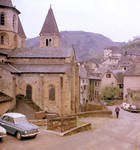 Ste. Foy, Conques, exterior north transept arm