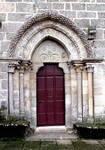 Castrelos, Church of Santa Maria, north side door
