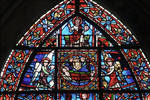 Rouen Cathedral, St. Julian the Hospitaller window