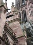 Strasbourg Cathedral, gargoyles, north side, 1176-1439