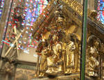 Gable end of reliquary shrine of Charlemagne