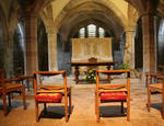 Hereford Cathedral, Crypt Chapel, 13th century, Early English Style, Hereford, England