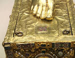 Reliquary of Sandal of St. Andrew, detail
