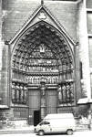 Amiens Cathedral, south transept portal by William J. Smither