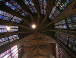 Aachen Cathedral, vaults of the Gothic nave and apse