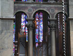 Aachen Cathedral, detail of gallery