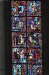 Rouen Cathedral, Sts. Peter and Paul Window, Apse, window 26 (detail)