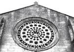 Real Monasterio de Armenteira, rose window
