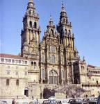 Santiago de Compostela, West facade