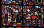Rouen Cathedral, Sts. Peter and Paul Window, Apse, window 26, section 5