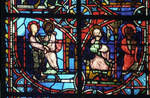 Rouen Cathedral, Sts. Peter and Paul Window, Apse, window 26, section 3
