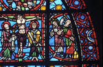 Rouen Cathedral, apse, c. 1220-1230, Gothic stained glass, France