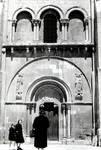 San Isidoro Basilica , c. 1160, south side, right portal, Romanesque, Leon, Spain