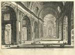 Veduta interna della Basilica di S. Pietro in Vaticano