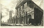 Veduta della Basilica di S. Paolo fuor della mura, eretta da Constantino Magno by Giovanni Battista Piranesi