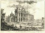 Veduta della Basilica di S. Giovanni Laterano. Architettura di Alessandro Gallilei