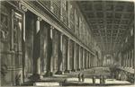 Veduta interna della Basilica di Santa Maria Maggiore