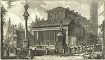 Veduta della Basilica di S. Lorenzo fuor delle mura