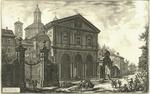 Veduta della Basilica di S. Sebastiano fuori delle mura di Roma su la via Appia by Giovanni Battista Piranesi