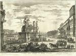 Veduta della Piazza di Monte Cavallo by Giovanni Battista Piranesi