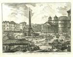 Veduta della Piazza della Rotonda