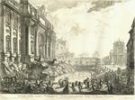 Veduta della vasta Fontana di Trevi anticamente detta l'Acqua Vergine