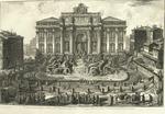 Veduta in prospettiva della gran Fontana dell'Acqua Vergine detta di Trevi Architettura di Nicola Salvi