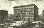 Veduta del Palazzo Farnese by Giovanni Battista Piranesi