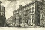 Veduta del Palazzo fabbricato sul Quirinale per le Segreterie de Brevi e della Sacra Consulta