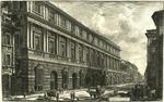 Veduta del Palazzo Stopani Architettura di Rafaele d'Urbino by Giovanni Battista Piranesi
