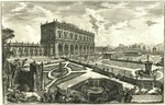 Veduta della Villa dell'Emo Signor Card[inale] Alessandro Albani fuori di Porta Salaria