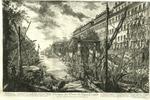 Veduta del Porto di Ripa Grande by Giovanni Battista Piranesi